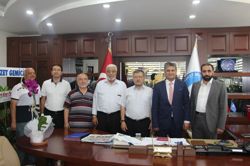Saadet'ten SMMMO Konya Şubesi'ne ziyaret