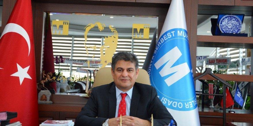 Konya SMMMO Başkanı Erdal'dan Konyalı firmalara tebrik