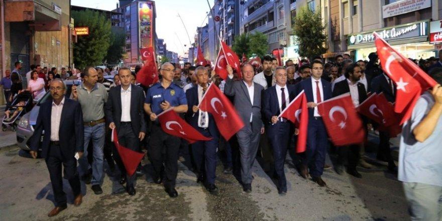 """Başkan Oprukçu: """"40 yıldır mücadele ettiğimiz terör örgütlerinin en sinsisi FETÖ'dür"""""""