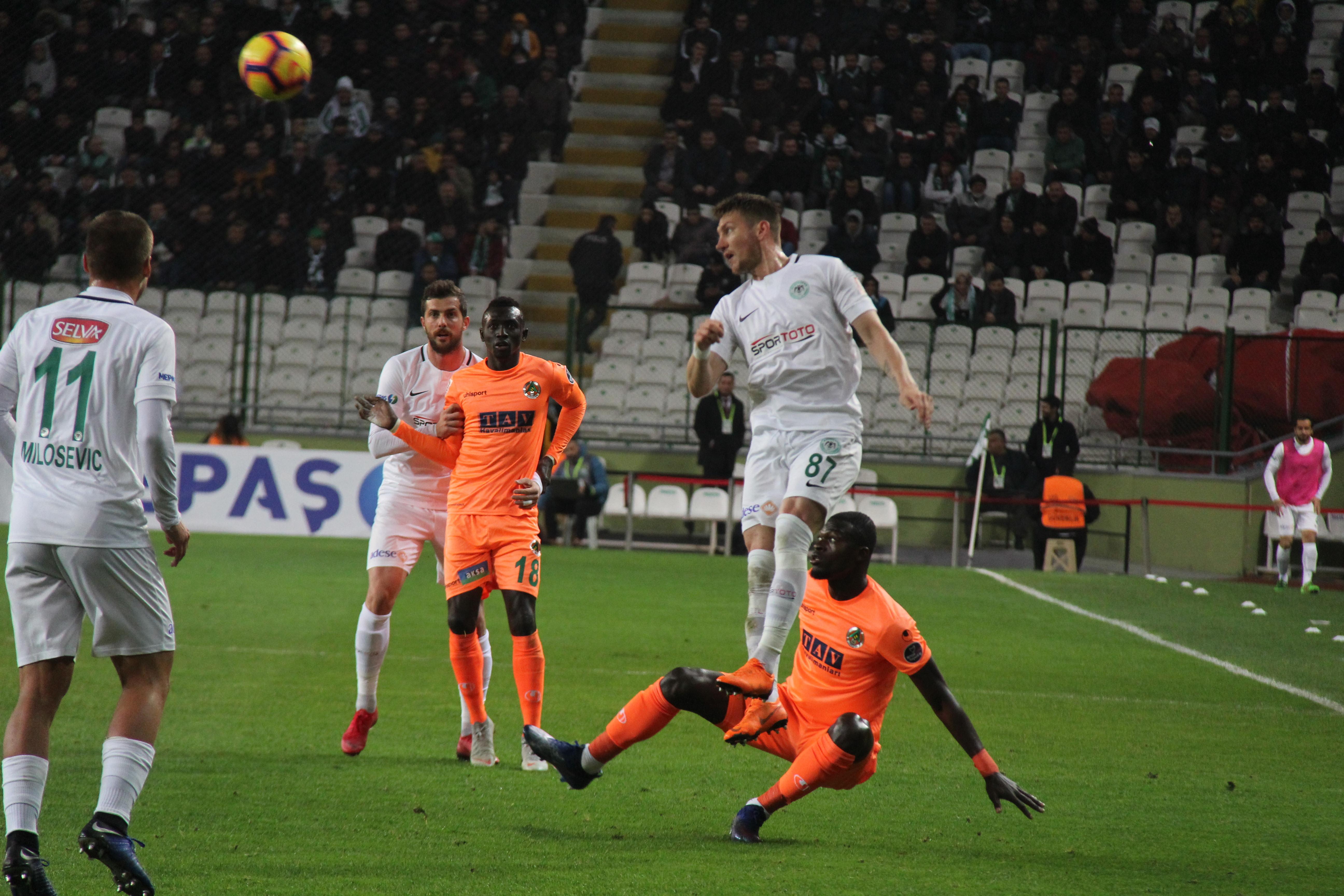 Konyaspor'un ilk  rakibi Alanyaspor