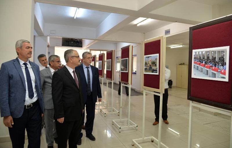 KTÜN'de '15 Temmuz Fotoğraf Sergisi' açıldı