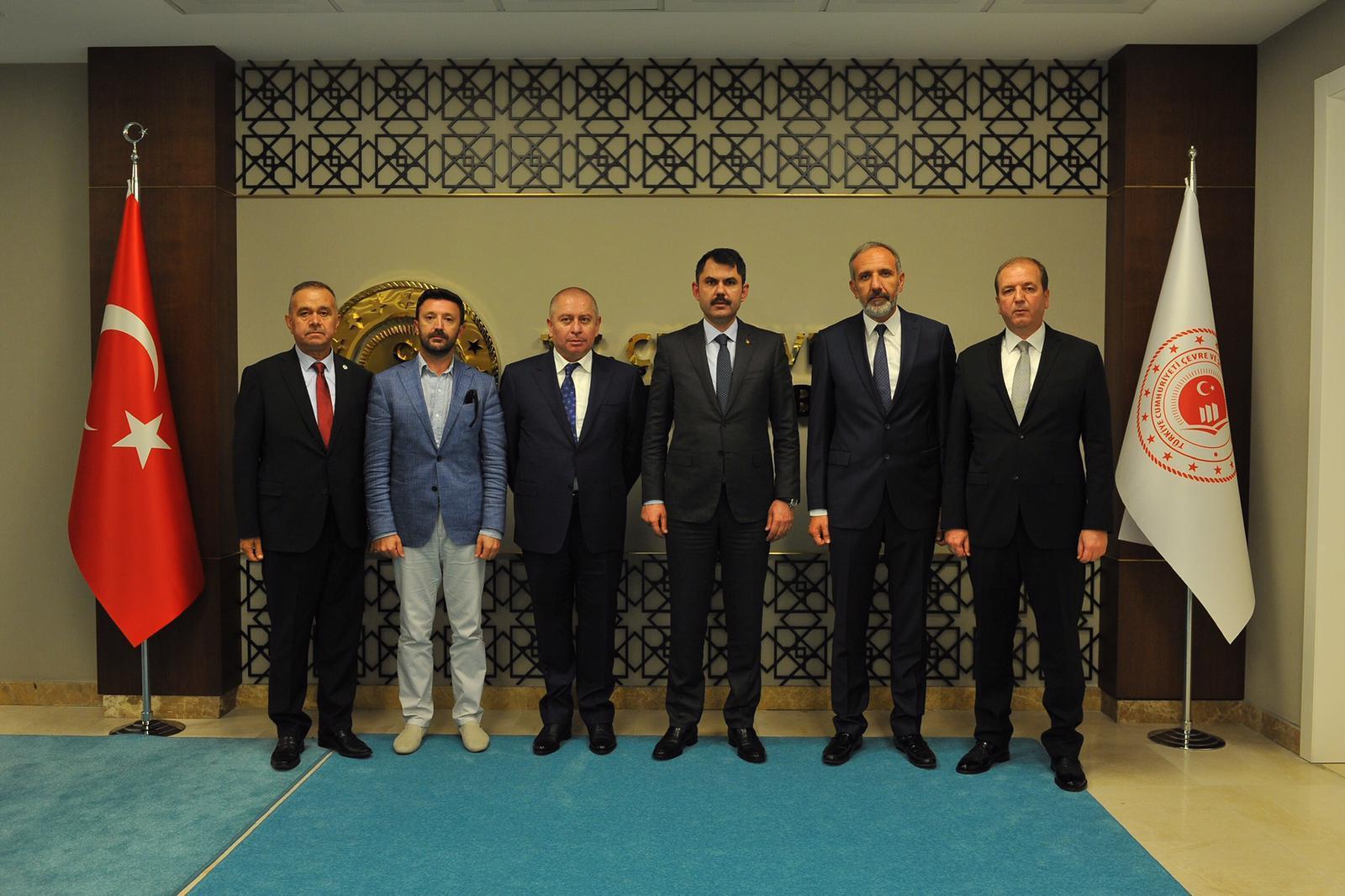 Konyaspor yönetiminden bürokratlara ziyaret