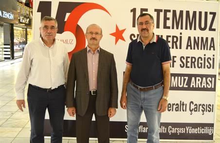 Ahmet Sorgun'dan sergi ziyareti