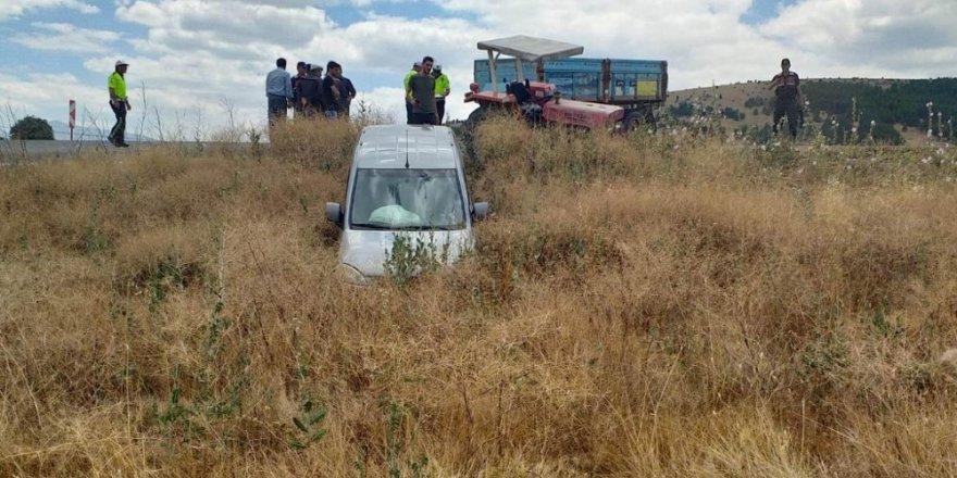 Konya'da iki ayrı trafik kazası: 2 yaralı