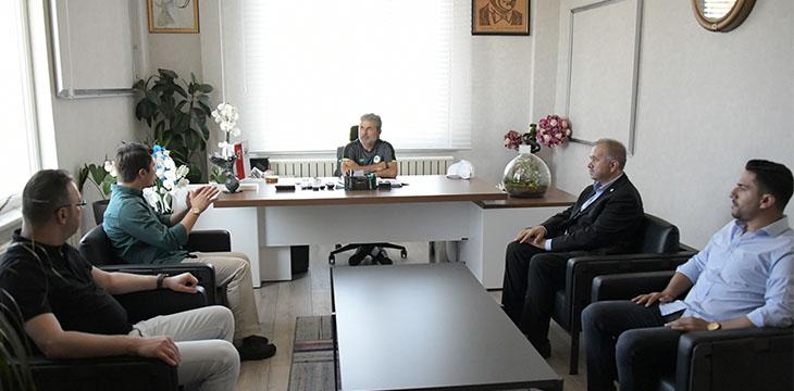 Özboyacı Konyaspor'u ziyaret etti