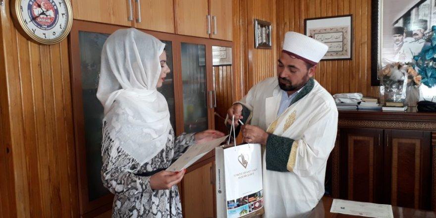 Almanya'dan Konya'ya gelip müslüman oldu!