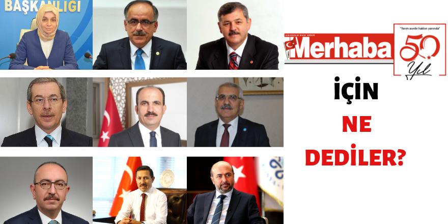Yarım asırlık çınar:  Merhaba Gazetesi