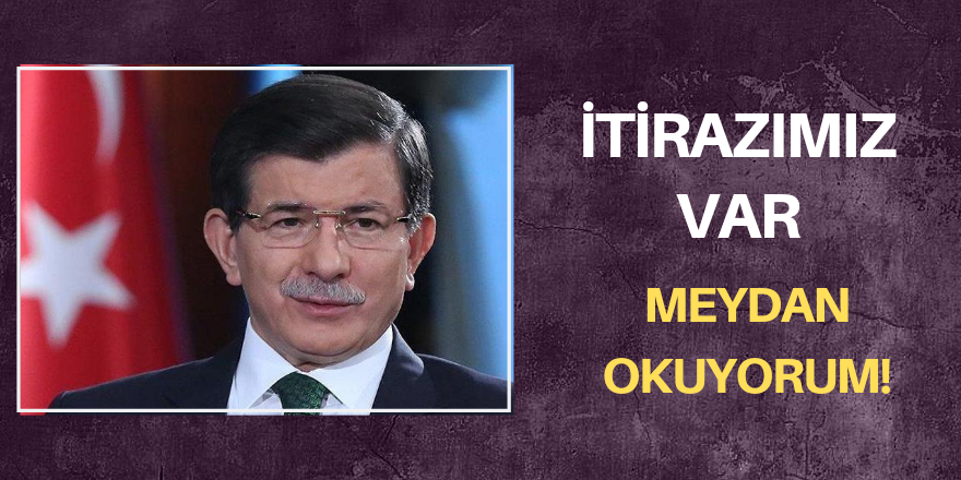 Davutoğlu'dan AKP'ye sert çıkış!