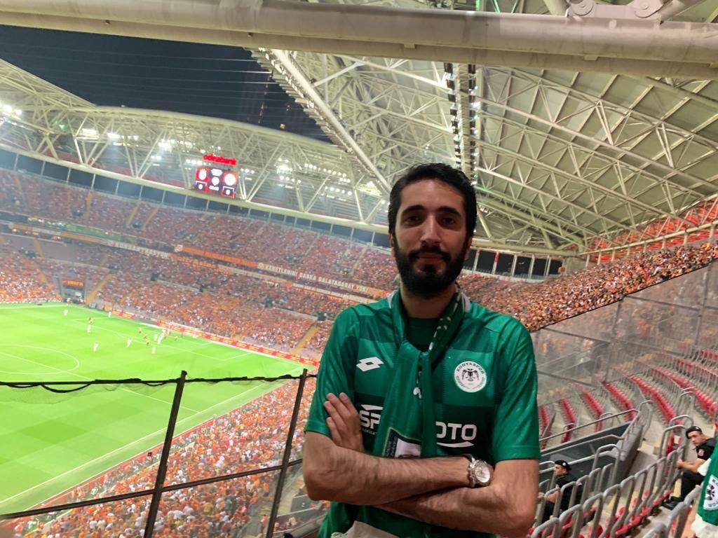 Vekil Karaduman'dan Konyaspor'a destek