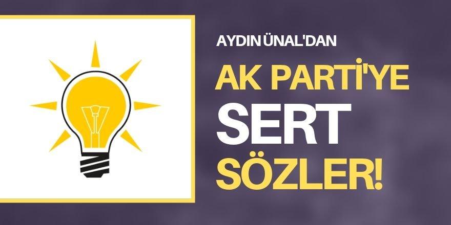 AK Parti'ye sert eleştiri!