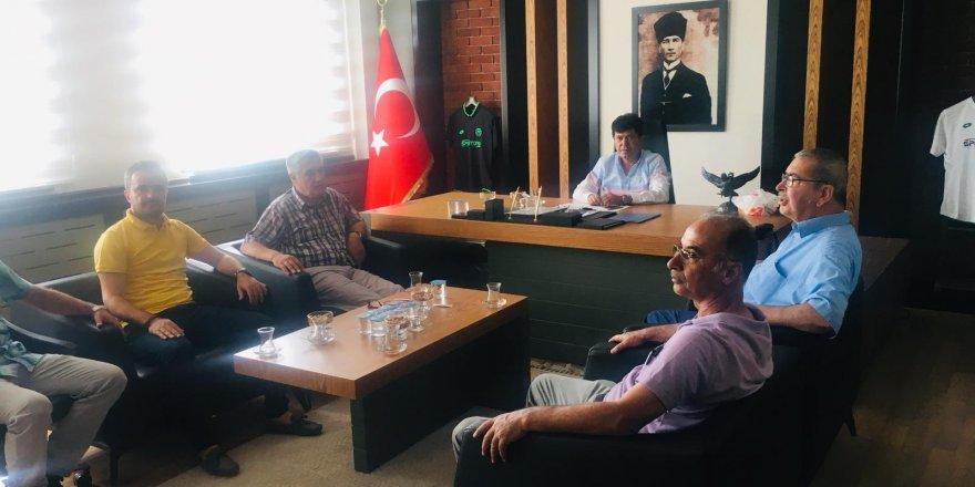 ASKF'den Konyaspor Futbol Akademisine ziyaret