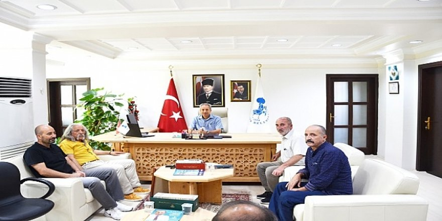 TURÇEV'den başkan Akkaya'ya ziyaret