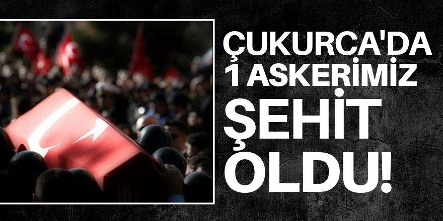Hakkari Çukurca'da bir asker şehit oldu