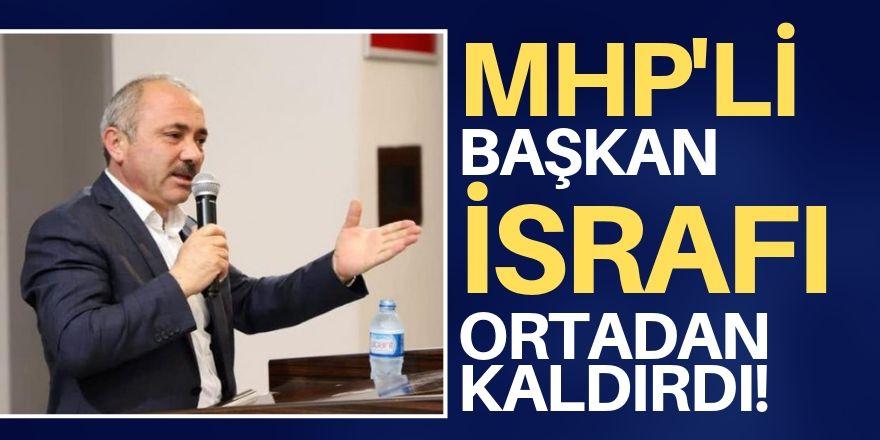 MHP'li başkan da harekete geçti!