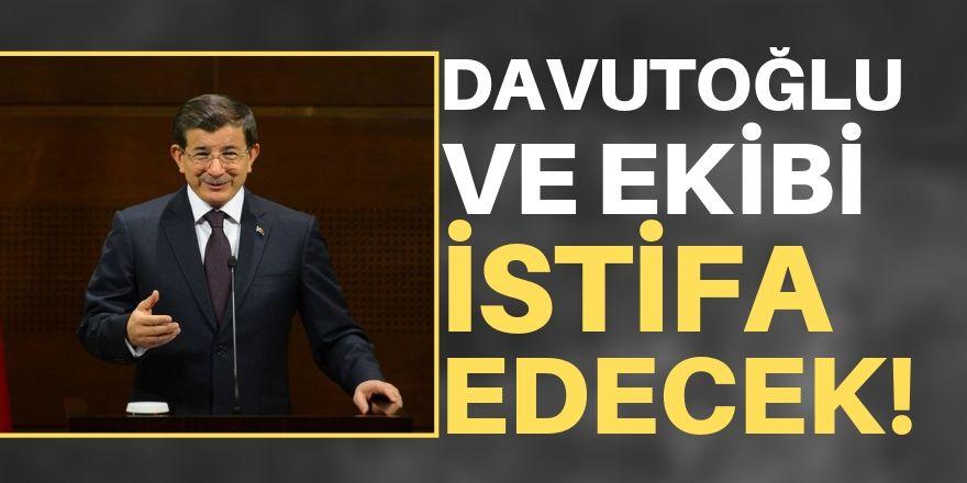 Davutoğlu ve ekibinden yeni adım!