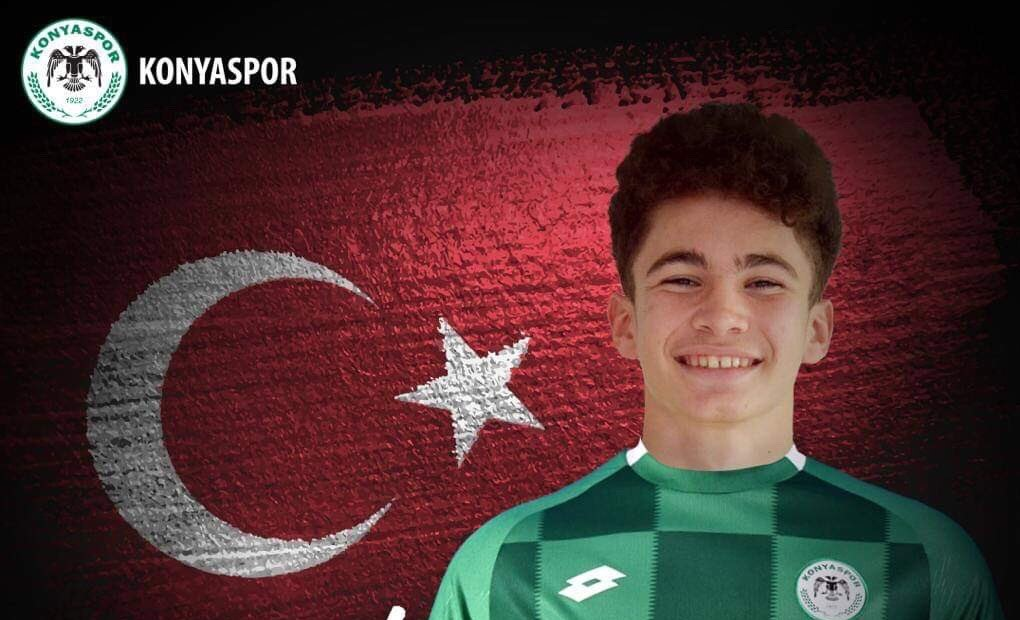 Konyasporlu Ahmet'e milli davet