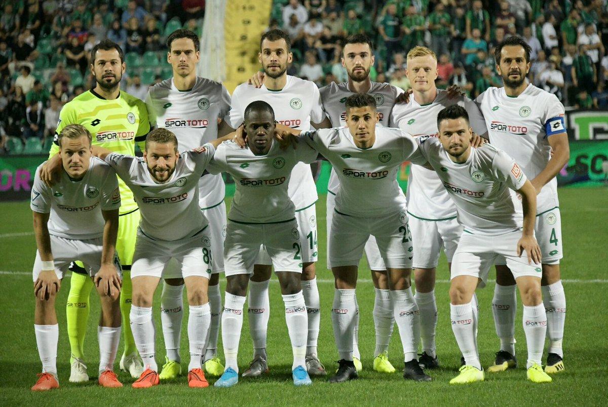 Yukatel Denizlispor: 0 - Konyaspor: 0 (İlk Yarı)