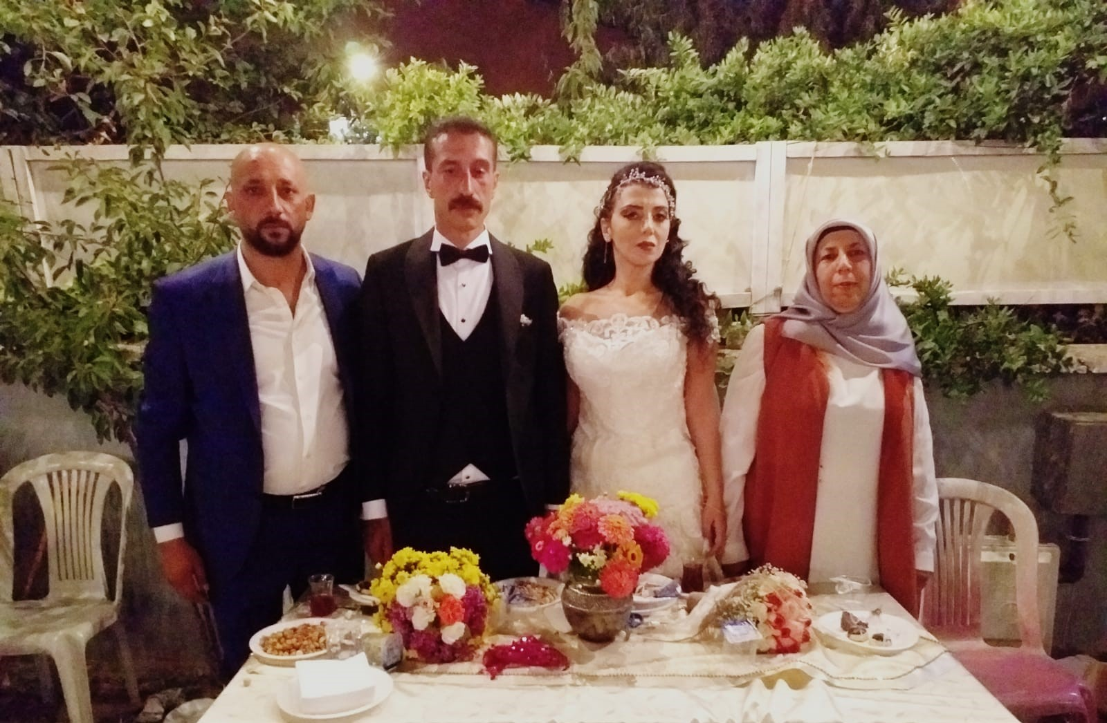 Doğan ve Ekinci ailelerinin düğün mutluluğu
