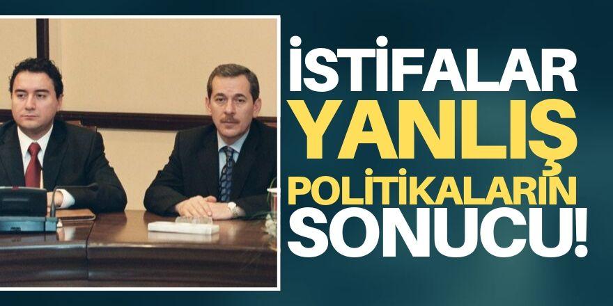 Şener'den Babacan ve Davutoğlu yorumu!