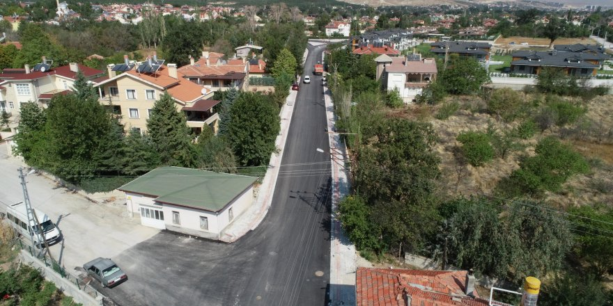 Meram'da asfalt  seferberliği