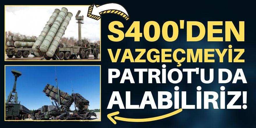 Patriot teklifine açığız!