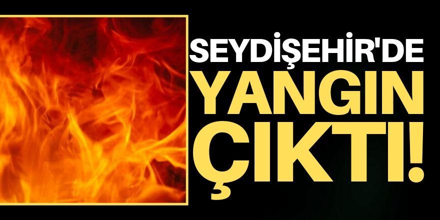 Seydişehir'de yangın!