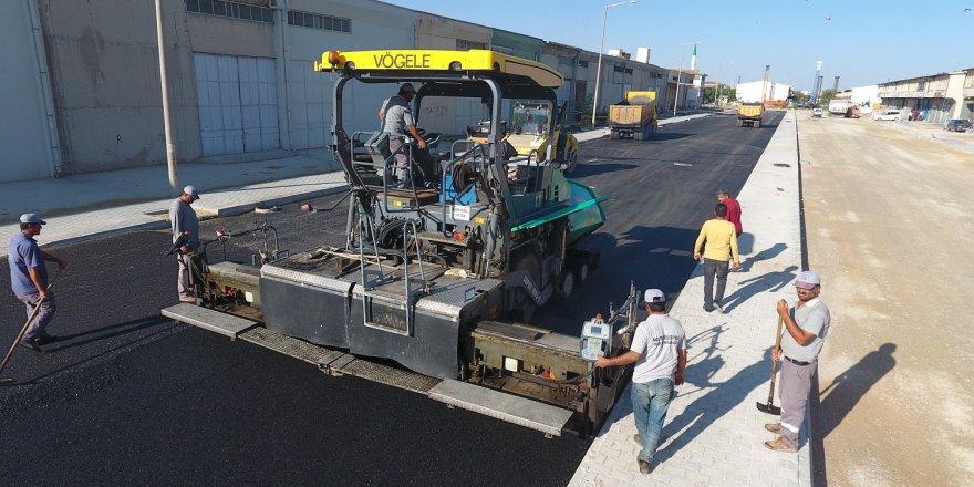 Karatay'da asfalt  çalışmaları sürdürüyor