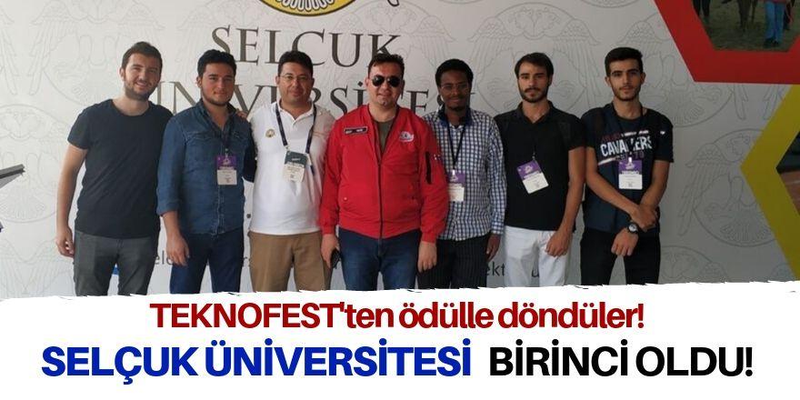 Selçuk Üniversitesine birincilik ödülü
