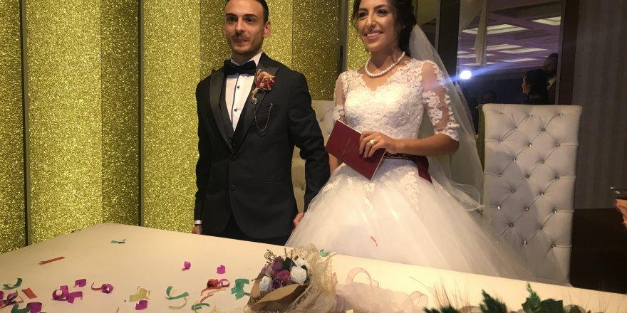 Mert ve Emine'nin en mutlu günü