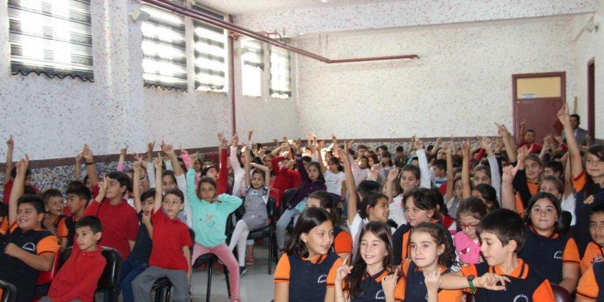 Seydişehir'de okullara sıfır atık semineri