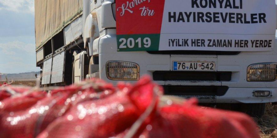İdlib'e 2 TIR yardım gönderildi