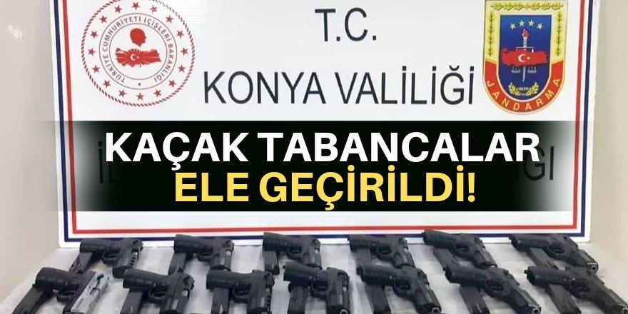 Konya'da silah operasyonu!