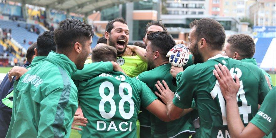Konyaspor'dan  5.farklı galibiyet
