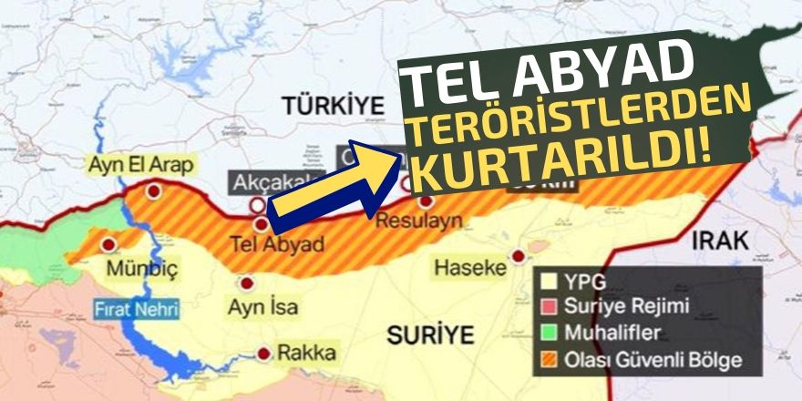 Tel Abyad kurtarıldı!