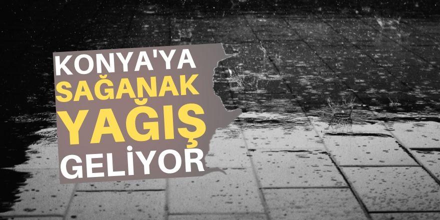 Konya'ya yağmur geliyor!