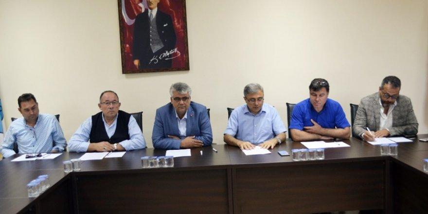 Didim oda ve STK'larından Barış Pınarı Harekatına ortak destek