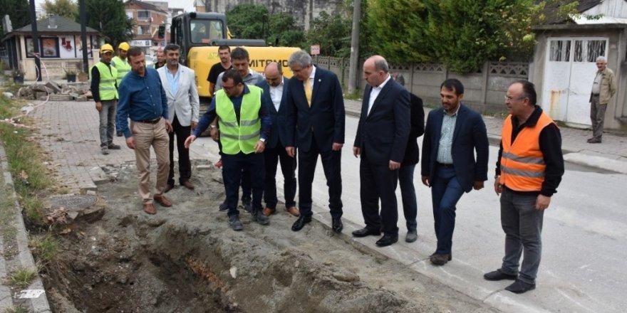 Şehit Astsubay Yaşar Güller caddesinde ilk kazma vuruldu