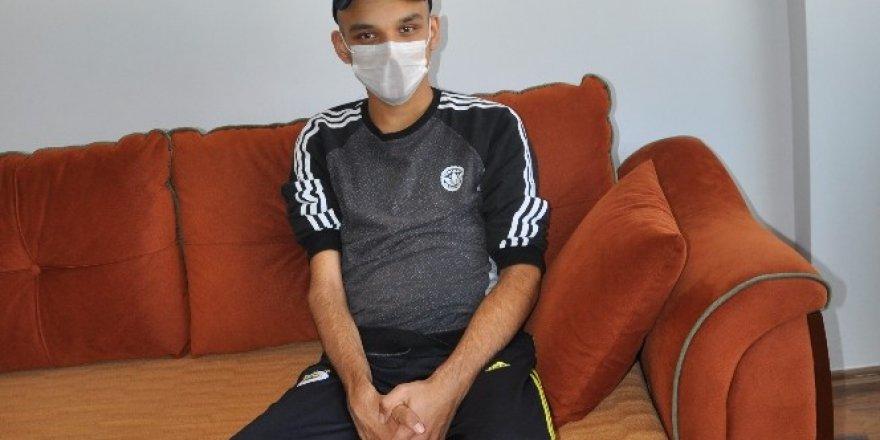 16 yaşında testis kanserine yakalandı