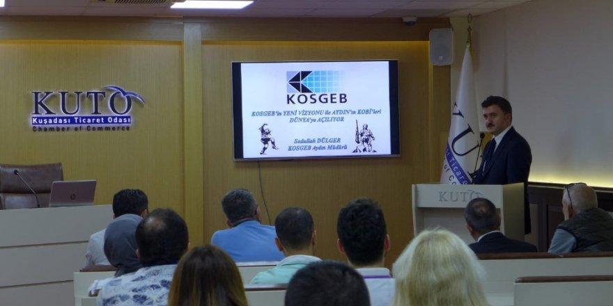 KUTO'da KOSGEB Yeni Destek Paketleri bilgilendirme toplantısı