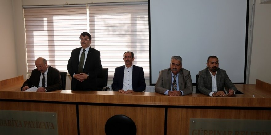 AK Parti heyetinden Gürpınar'a ziyaret