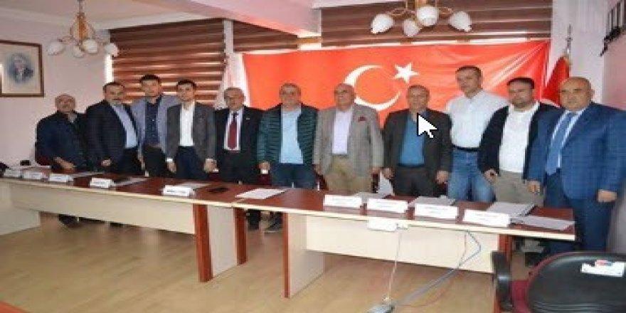Simav'da STK'lardan Barış Pınarı Harekatı'na destek