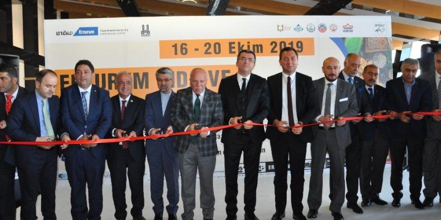 Erzurum Gıda ve Yöresel Lezzetler Fuarı start aldı