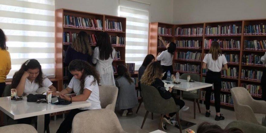 Havsa İlçe Halk Kütüphanesi ve Millet Kıraathanesi ilgi görüyor