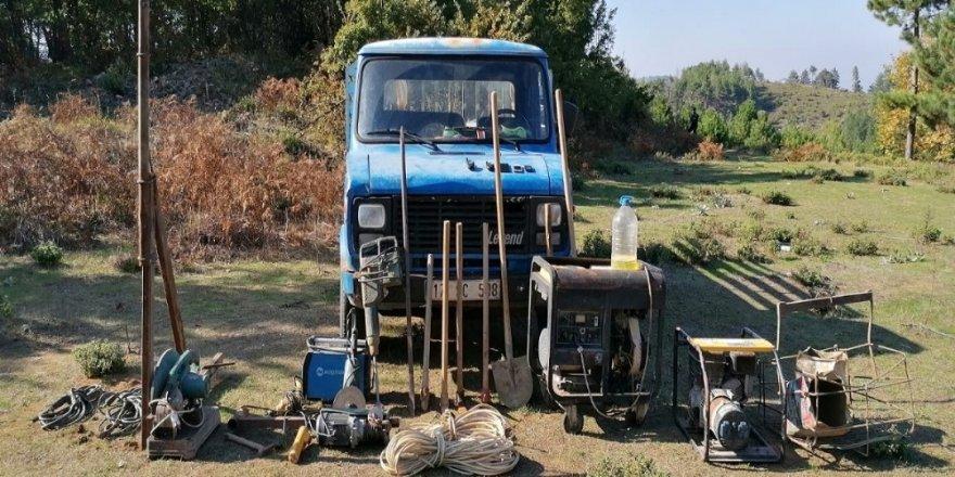 Çanakkale'de izinsiz kazı yapanlara operasyon