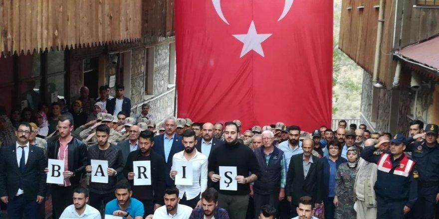 Kemaliye'den Barış Pınarı Harekâtı'na tam destek