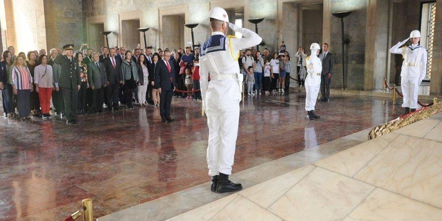 Muğla'nın mali müşavirler Atatürk'ün huzurunda