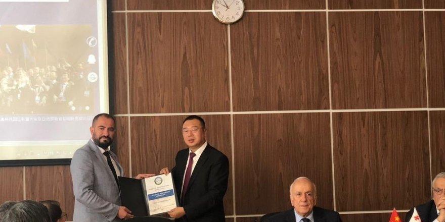Erciyes Teknopark, İpek Yolu Yüksek Teknoloji Birliği'ne Türkiye'den katılan ilk üye oldu