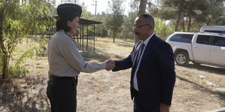 Vali Atik, Siirt Askerlik Şubesi Başkanı Doğrulu'yu ziyaret etti