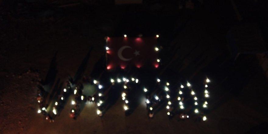 Afyonkarahisar'da öğrencilerden Barış Pınarı Harekâtına destek