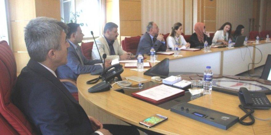 DPÜ'de Kalite Komisyonu toplantısı